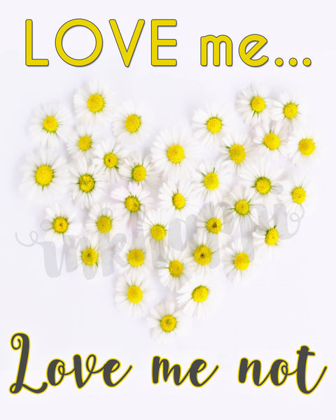 Love me... Love Me Not
