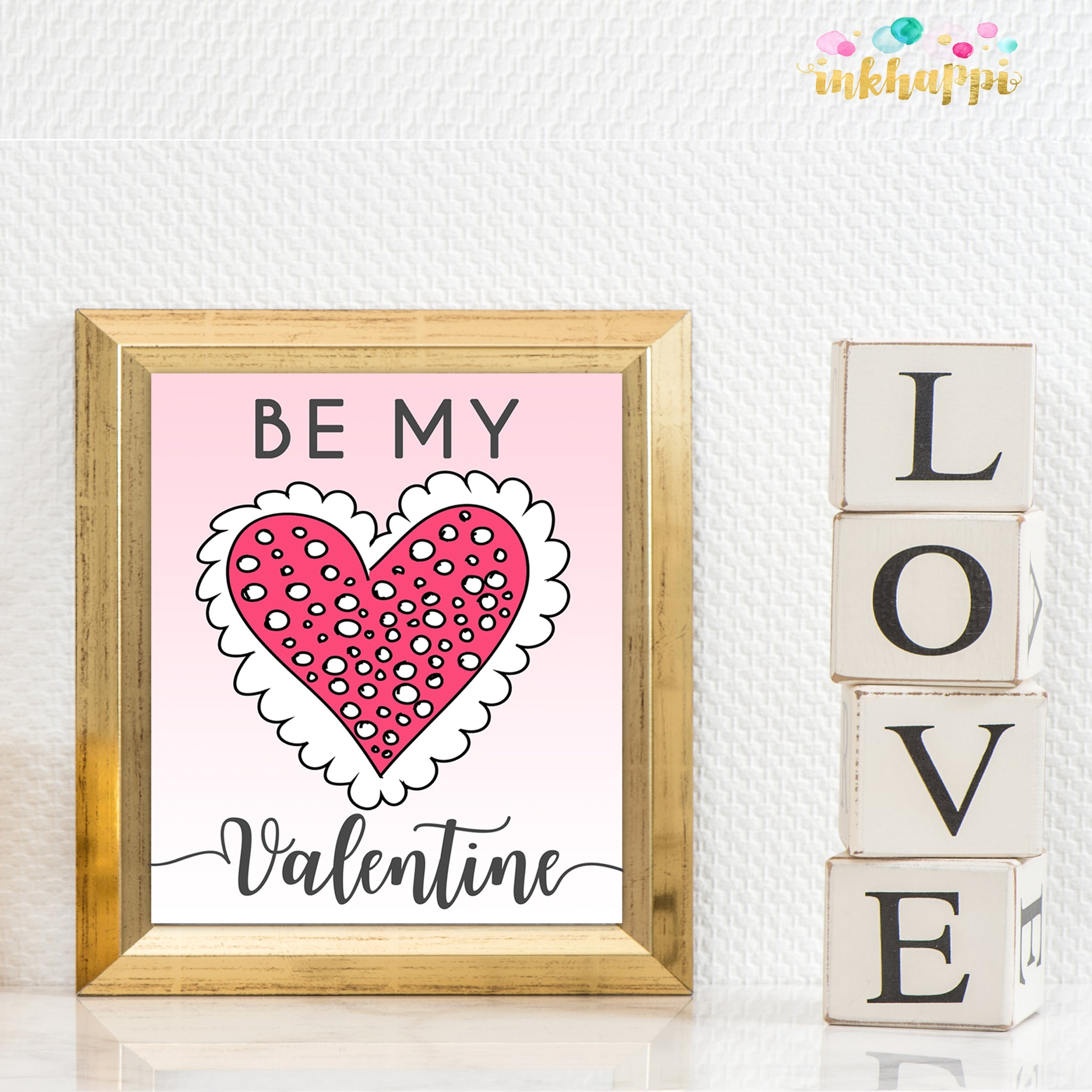Be My Valentine Print