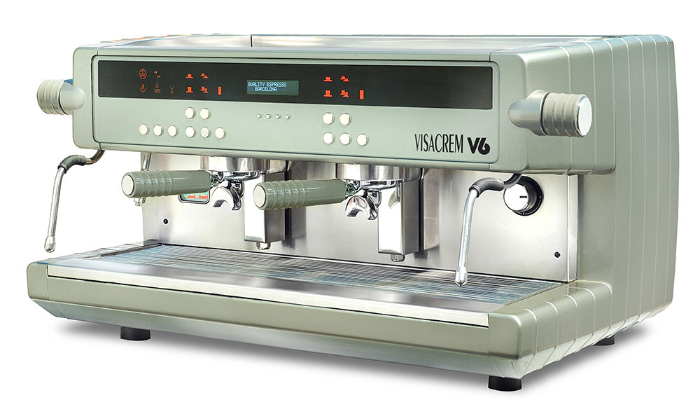 V6 Espresso Coffee Machine 2 Group