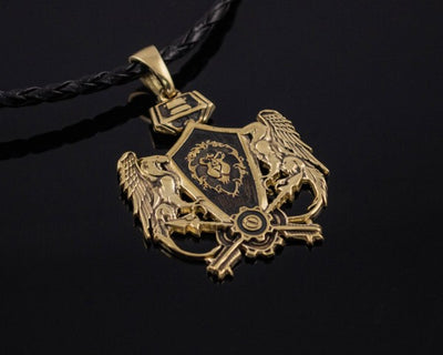 Warcraft Jewelry Anchor Necklace BRONZE Lord Admiral/'s Pendant inspired by World of Warcraft Jaina Proudmoore Kul Tiras Grand Admiral\u2019s