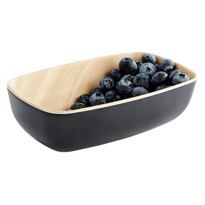 Wood Effect Melamine Bowl