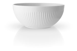 Small Fluted Porcelain Bowl