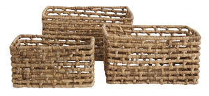 Water Hyacinth Basket (Set of 3)