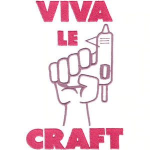OESD Viva Le Craft Embroidery Design