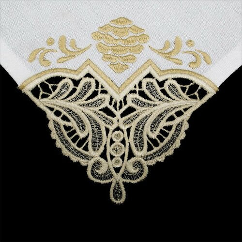 OESD Freestanding Lace Tablecloth and Napkin Corners 12788