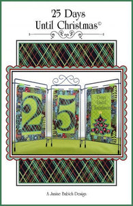 Janine Babich 25 Days Until Christmas Table Top Display Design