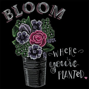 OESD Blooming Expressions by Shannon Roberts Embroidery Design