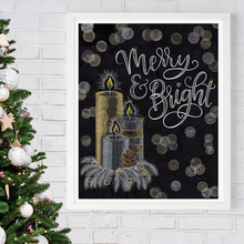 Load image into Gallery viewer, OESD Merry & Bright Embroidery Design and Thread kit
