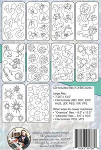 Edge-To-Edge Quilting on Your Embroidery Machine Designs