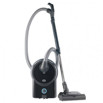 Sebo Airbelt D4 Premium with ET-1 Power Head and Parquet Brush - Black