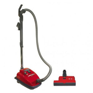 Sebo Airbelt K3 Premium with ET-1 Power Head and Parquet Brush - Red