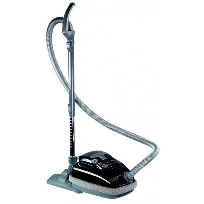 Sebo Airbelt K3 Premium with ET-1 Power Head and Parquet Brush - Black