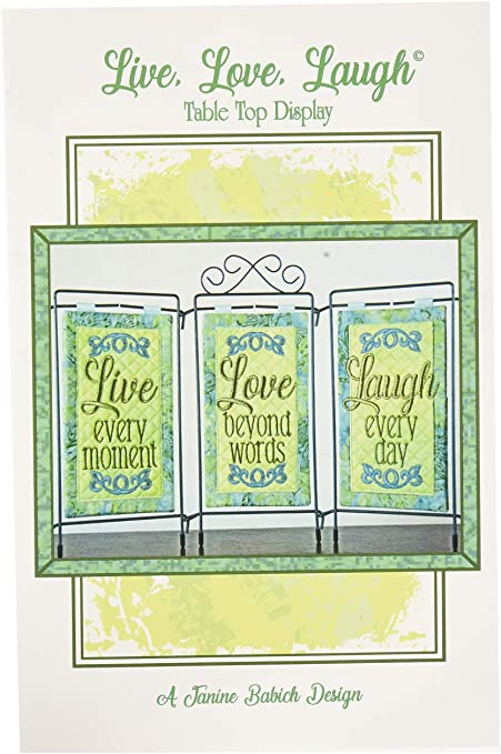 Janine Babich Live, Love, Laugh Table Top Display Design