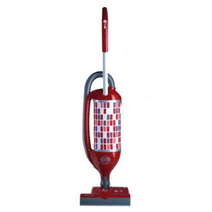Sebo Felix 2 Premium, Rosso with ET-1 Power Head Upright Vacuum - Red/Gray