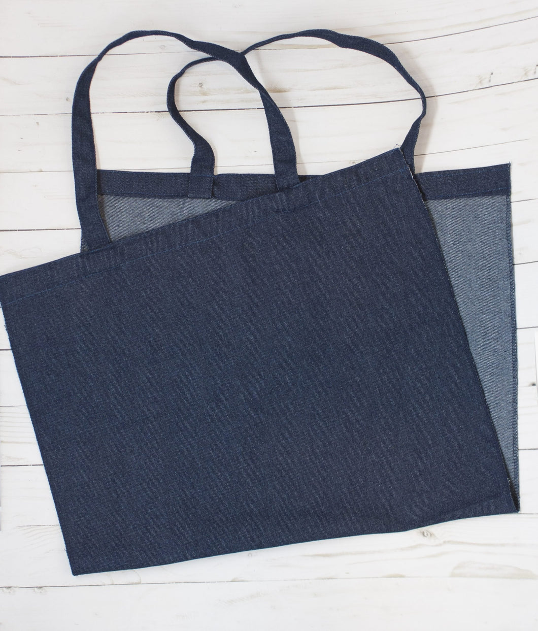 Kimberbell Blanks Denim Tote KDKB205