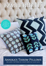 Load image into Gallery viewer, Kimberbell Annika's Throw Pillows Embroidery Design CD