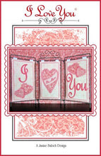 Load image into Gallery viewer, Janine Babich I Love You Table Top Display Design