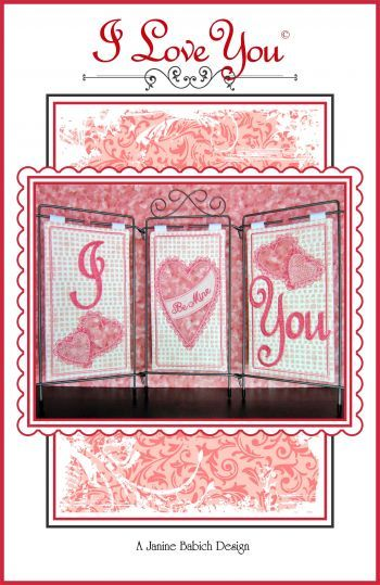 Janine Babich I Love You Table Top Display Design