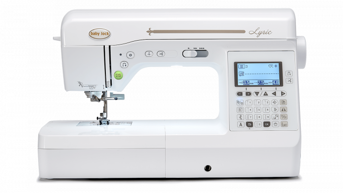 Baby Lock Lyric Sewing Machine / Item #BLMLR