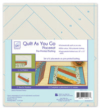 Load image into Gallery viewer, Quilt As You Go Placemats (6) - Jakarta # JT-1413