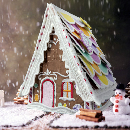 51234 OESD Freestanding Gingerbread Sugar Chalet