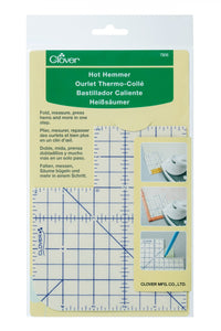 Clover Hot Hemmer and Hot Rulers