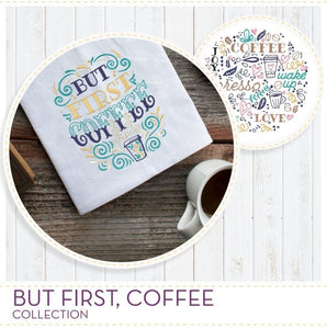 But First, Coffee Collection ScissorTail Stitches #51213