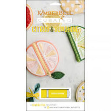 Load image into Gallery viewer, KimberBell Curated: Citrus & Sunshine Machine Embroidery