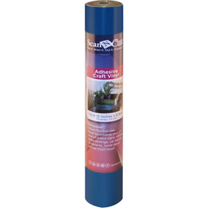 "12"" x 6 Foot Brother Adhesive Craft Vinyl (Various Colors)"
