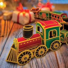 Load image into Gallery viewer, OESD Freestanding Holiday Train!