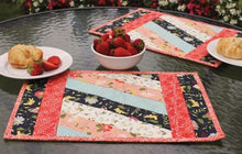 Load image into Gallery viewer, Quilt as You Go Placemat - Pre-Printed Batting set of 6