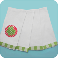 Load image into Gallery viewer, Plaid Trimmed Tea Towels