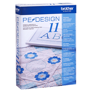 Brother PE Design 11 Embroidery Software