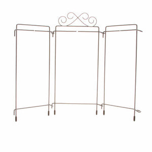 4in x 9in Table Top Tri-Stand Hanger (White or Grey)