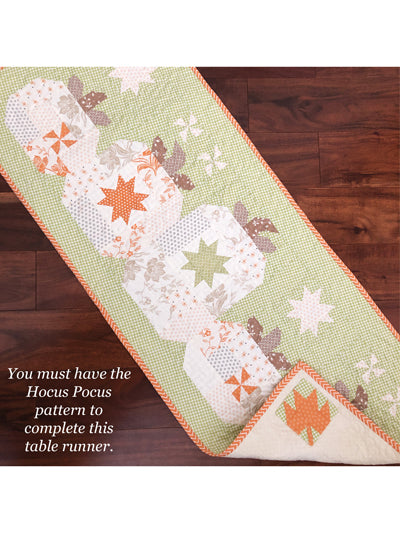Hocus Pocus Table Runner Add-On from Pattern basket