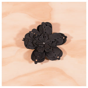 RTH Flower w/ kilt pin - perforated
