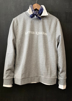 "APC x RTH ""Somos Iguales"" crewneck sweatshirt - heather grey"