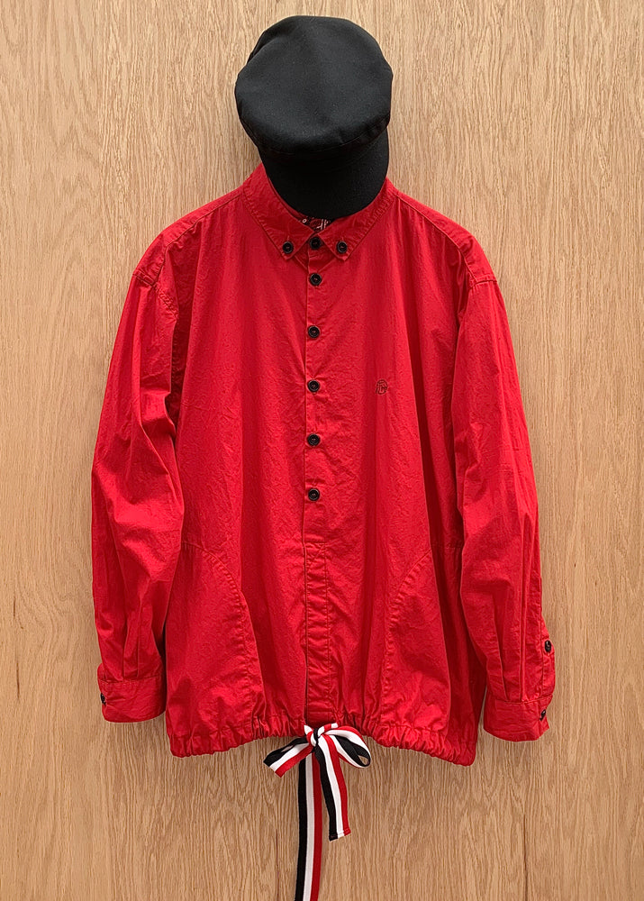 RTH POPOVER WINDBREAKER - VARSITY RED