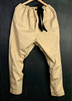 RTH DRAWSTRING PANTS - WASHED CANVAS TWILL - Tumbleweed