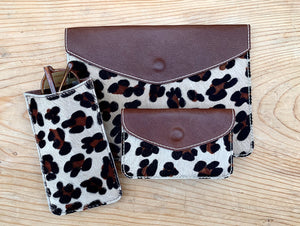 RTH SNAP POUCH & GOOD CASE- LEOPARD