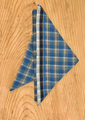 RTH FACE MASK ( non medical) / RTH KERCHIEF- plaid  #25