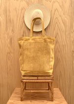 RTH MARKET TOTE - NATUTRAL -  ROUGHOUT