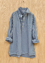 RTH POPOVER - Gingham Check - blue/white