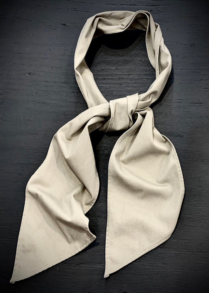 RTH NECK SASH- Cotton Twill-Khaki