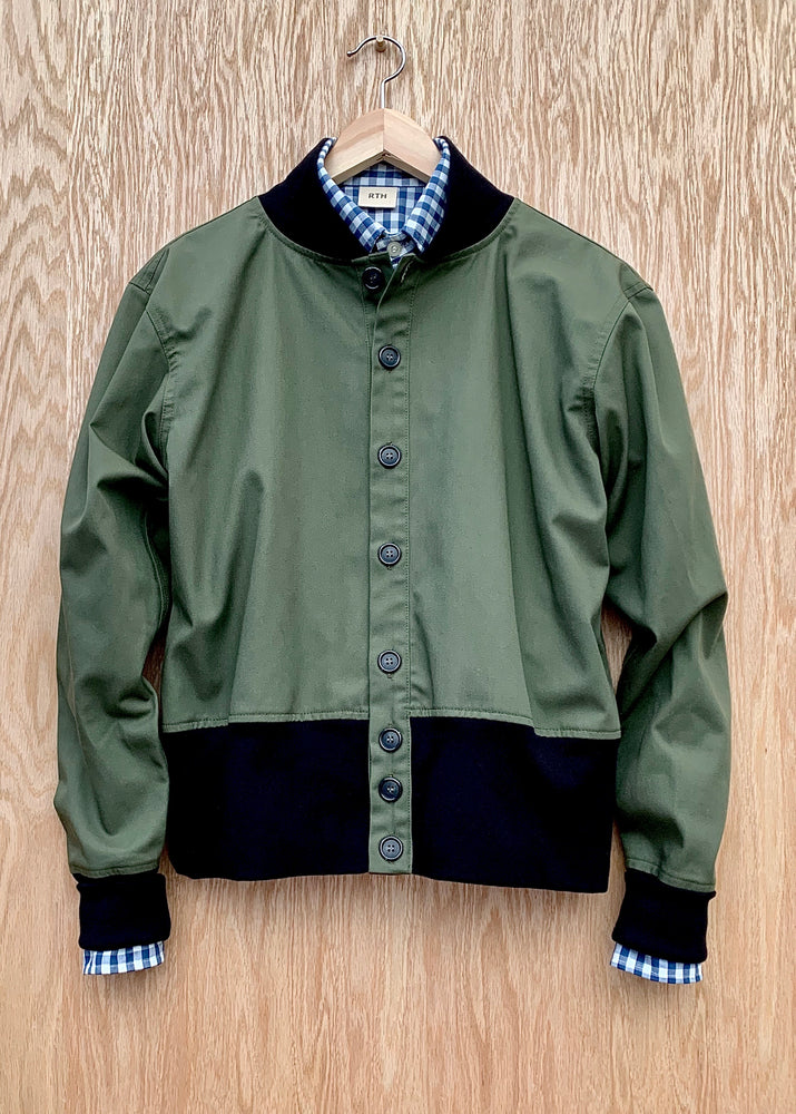 RTH 60's DIRECTOR'S JACKET - OLIVE