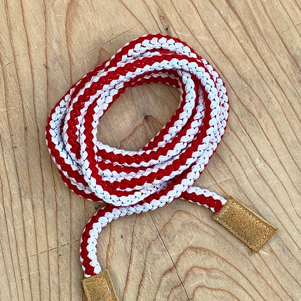 RTH RUMORS or TIPSY ROPE BELT - Red Stripe