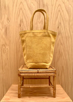 RTH JR. MARKET TOTE - NATURAL - ROUGHOUT