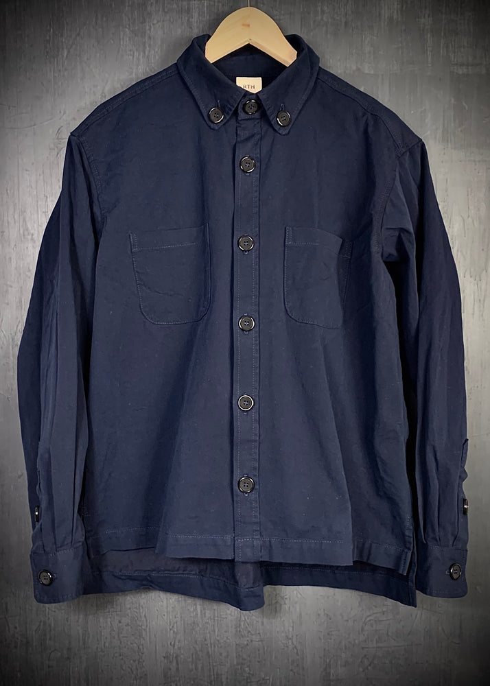RTH WALKING SHIRT - WASHED GABERDINE STRETCH TWILL