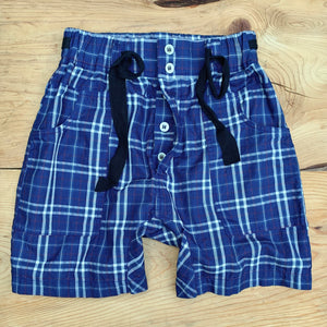 RTH RANGER SHORTS - BLUE PLAID