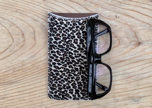 RTH SNAP POUCH & GOOD CASE - MINI LEOPARD